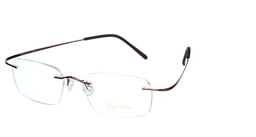 Superlite Titanium Rimless and Hingeless Glasses with the option of ...