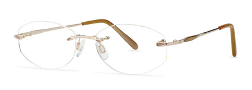 Jaeger Rimless Glasses : Jaeger 228 Glasses at Posh Eyes