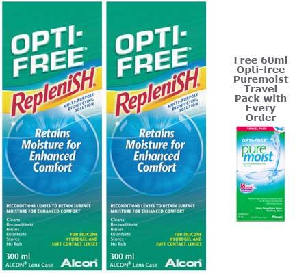 OPTI-free RepleniSH Solution