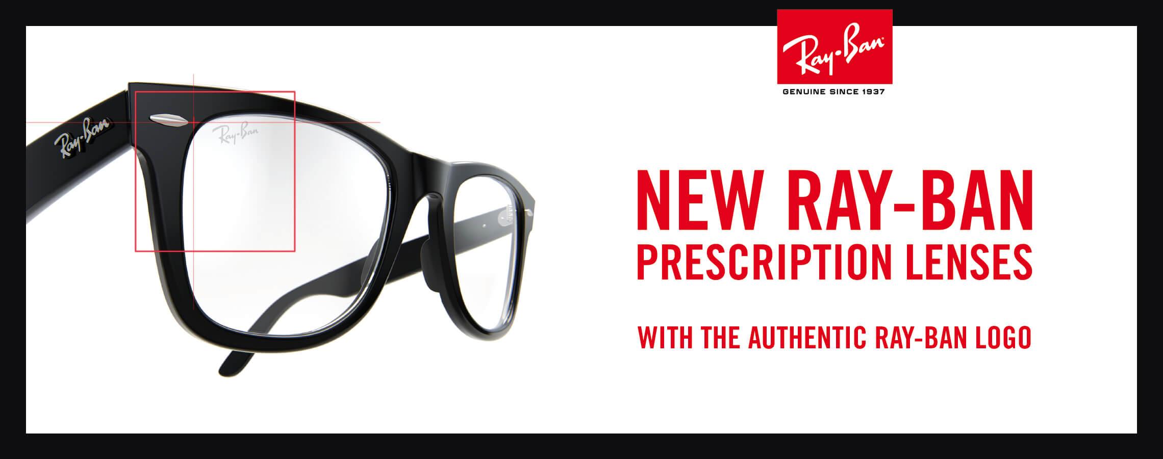 Authentic Ray-Ban Prescription Glasses
